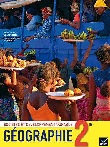 Géographie 2de éd. 2014 - Manuel de l'élève (format compact)