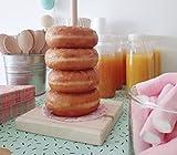 Tabla para donuts. Mesas Dulces. Bautizos, comuniones, bodas. Candy Bar/Donut Bar. Regalos. Soporte...