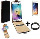 TOP SET: 360° Flipstyle Schutz Hülle Smartphone Tasche