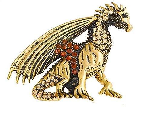 Costume Trifari Bijoux - hommes Broche Totem mode personnalité animal ptérosaures
