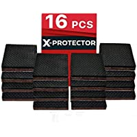 FURNITURE PADS X-PROTECTOR - NON SLIP PADS - PREMIUM 16 pcs 50mm - Best Floor Protector Pads - Rubber Feet for Furniture Feet – Ideal Floor Protectors for Keep in Place Furniture. STOP YOUR FURNITURE!