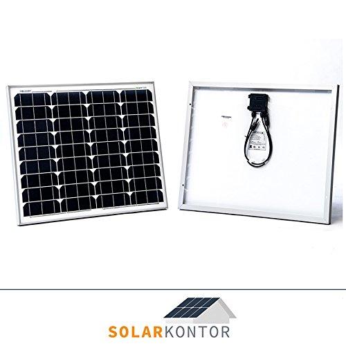 50 W MONO Panel solar 12 V panel solar de alta eficiencia