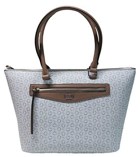 Guess Top Zip Tote (Guess Women's Leonore Top Zip Tote Taupe)
