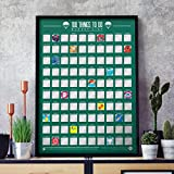 Gift Republic scratch off poster, multicolore, taglia unica
