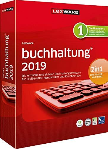 Lexware buchhaltung 2019|basis-Version Minibox (Jahreslizenz)|Einfache Buchhaltungs-Software für Freiberufler, Handwerker, Kleinunternehmen und Vereine|Kompatibel mit Windows 7 oder aktueller
