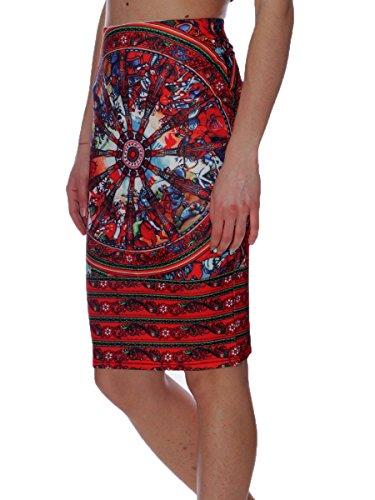 Jack T. Gonna Pencil Skirt Elasticizzata12-2700 Var11, M MainApps