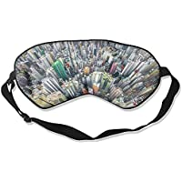 Eye Mask Eyeshade Cityscape Aerial View Sleeping Mask Blindfold Eyepatch Adjustable Head Strap preisvergleich bei billige-tabletten.eu