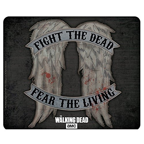 Carol Walking Kostüm Dead - The Walking Dead - Mausmatte Mauspad - Daryl Dixon Wings - 23 x 19 cm