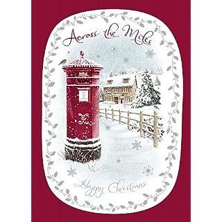 Wishing Well Studios Christmas Card - Across the Miles - Happy Christmas