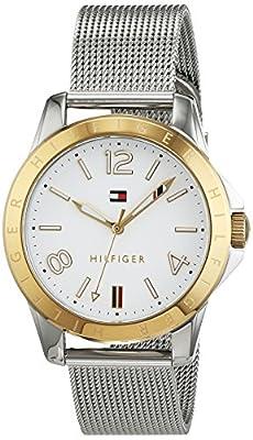 Tommy Hilfiger 1781677 Casual - Reloj de pulsera para mujer analógico de cuarzo, deportivo, acero inoxidable