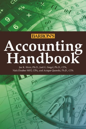 Accounting Handbook (Barron's Accounting Handbook)