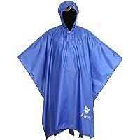 Anyoo Impermeabile Poncho Pioggia Riutilizzabile Multiuso Impermeabile Impermeabile con Cappuccio Packable Telo Riparo a…