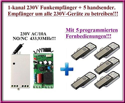 Universal Funkempfänger 230V TR-290