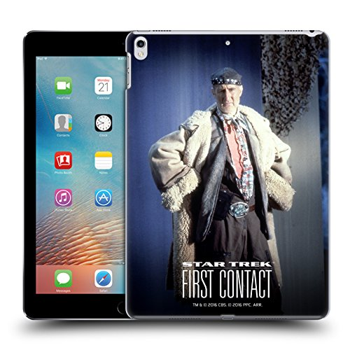 Head Case Designs Offizielle Star Trek Volles Kostüm Zefram Cochrane Der Erste Kontakt TNG Ruckseite Hülle für iPad Pro 10.5 ()