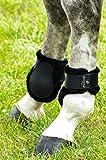 Protège-boulets NORTON 'Confort' - coque noir, mouton synthétique noir - Taille cheval