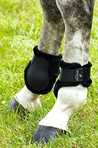 protege-boulets-norton-confort-coque-noir-mouton-synthetique-noir-taille-poney