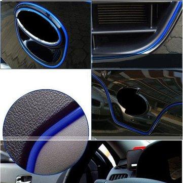 5M Car Grille Interior Exterior Mouldings Trim Outlet Decoration Strip...