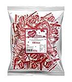 500 Traubenzucker Vielen Dank Herzen Werbemittel Karneval Merci Danke eineln verpackt
