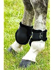 """Protège-boulets NORTON """"Confort"""" - coque noir, mouton synthétique noir - Taille cheval"""