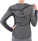 BD Damen Jacke Workout Sportjacke Laufjacke Fitnessjacke - 3