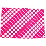 Gurukripa Quick Dry Baby Mat Baby Bed Protector Waterproof Sheet Reusable Laminated Absorbent Sheets Underpads Crib Sheet Cot Mat Fast Drying Bassinet Bedding Anti Microbial Treatment Midum Size 100CM X 70 CM -Say-Bye-To-Nappies Colour (Pink)