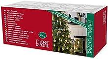 Konstsmide 2336-800 árbol/esmerilado/con blanqueado/dorado/40 bombillas/230 V/interior/cable verde