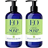 EO Botanical Peppermint And Tea Tree Liquid Hand Soap With Peppermint And Tea Tree Essential Oils, Chamomile,...