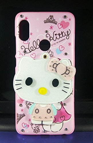 timeless design 05018 6bb91 Dream2Cool Cute Makeup Mirror Hello Kitty Silicone Back Case Cover for  Redmi Note 5 Pro (Multi Colour)