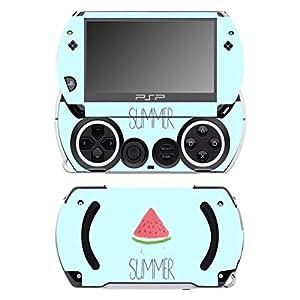Disagu SF-14232_1070 Design Folie für Sony PSP Go – Motiv Wassermelone Sommer transparent