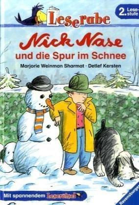 Leserabe. Nick Nase und die Spur im Schnee. 2. Lesestufe, ab 2. Klasse (Leserabe - 2. Lesestufe)