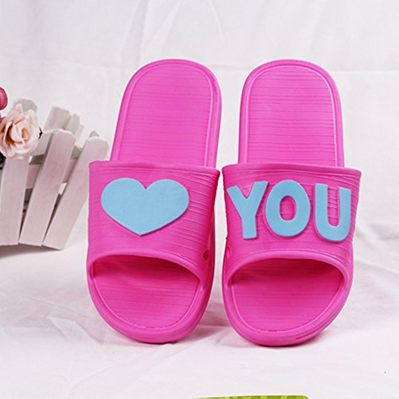 CWJDTXD Zapatillas de verano Zapatillas de verano femeninas de interior casa luz de deslizamiento cómodos cómodos...