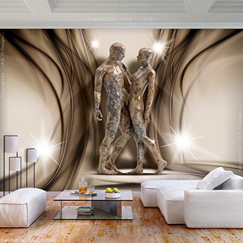 Decomonkey | Fototapete Abstrakt Silhouetten 400x280 Cm XL | Tapete |  Fototapeten | Vlies Tapeten | Vliestapete | Wandtapete | Moderne Wanddeko  Wandbild ...
