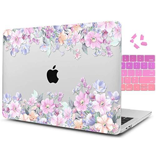 Dongke Schutzhülle für MacBook Pro 15 Zoll (38,1 cm) 2012-2015, Hartschale, mit Tastatur-Abdeckung für MacBook Pro 15 mit Retina Display A1398 Mehrfarbig J213 (Macbook Pro 2012 Tastatur-abdeckung)