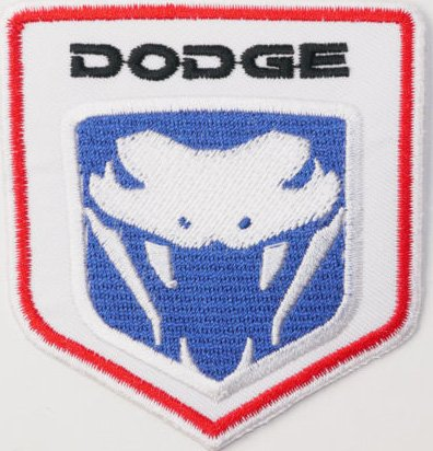 dodge-viper-embroidered-badge-patch-iron-or-sew-on-75cm-x-8cm