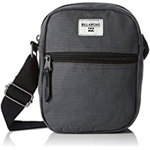g.s.m. Europe – BILLABONG Collision Satchel – Bolsa para hombre, Black Heather, 15.5 x 5 x 21 cm, 1.5 litros, z5sa02 bif6 1278