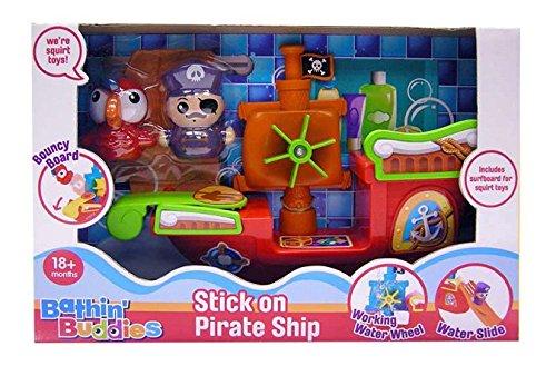 A bis Z 62070Bath Time Stick auf Piratenschiff