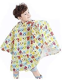 Highdas Niños Big Eaves Sombrero Poncho Baby Kids Impermeable insípido Raincoat ...