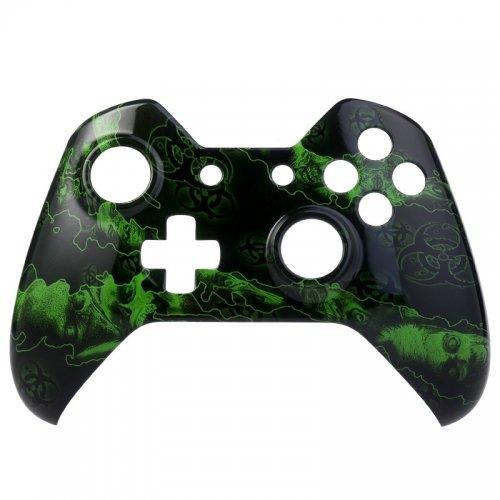 Xbox ONE Oberschale für wireless Controller - Green Zombies (Zombie Xbox One Controller)