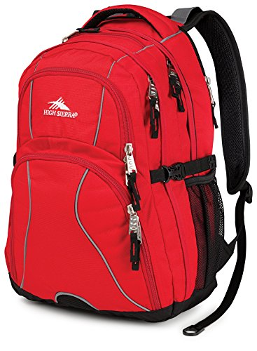 high-sierra-swerve-backpack-unisex-adulto-crimson-black-taglia-unica