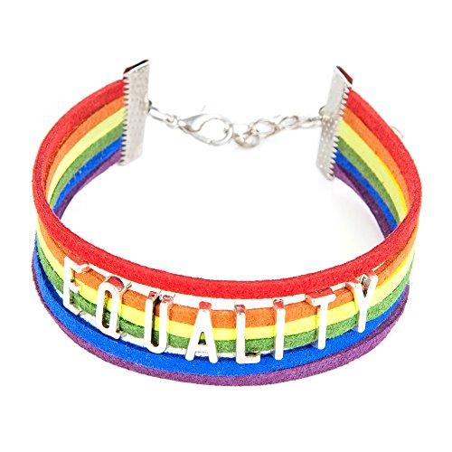 Equality Armband, Rainbowlife, Lesben Schmuck, Rainbowpower, Regenbogen Accessoires