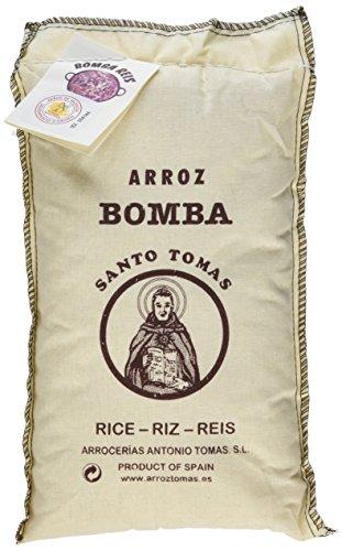 Arrocerías Antonio Tomas Arroz Bomba Santo DO Paellareis, 1er Pack (1 x 1 kg)