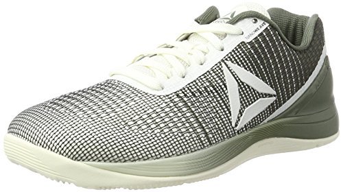Reebok R Crossfit Nano 7.0, Zapatillas de Running Unisex, Blanco (Chalk/Hunter Green), 40.5 EU M