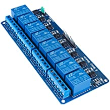 SunFounder 8 Channel 5V Relay Shield Module for Arduino UNO 2560 1280 ARM PIC AVR STM32