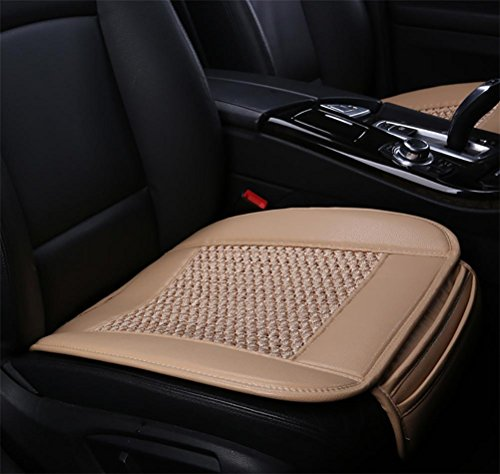 DIELIAN Autokindersitze, Autositzbezüge, Autopolster atmungsaktiv und komfortabel, rutschfeste Leder Four Seasons Allgemein Autositzschutz , e1