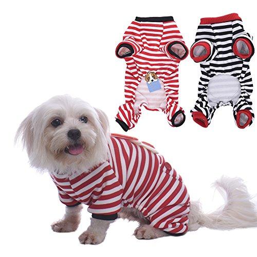 WIDEN-Vestiti-per-cani-maglioncini-per-cani-Pigiama-a-righe-vestiti-di-Natale-per-cane-gatto