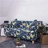 SHFOLSFH Sofa Tight Wrap All-Inclusive Slip-Resistant Sectional Elastic Full Sofa Cover/Towel Single/Two/Three/Four- 14 single seat sofa