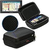 NAVITECH - Housse/coque rigide 6 pouces pour protection et transport en nylon EVA noir pour Tomtom Start 60 6 pouces Sat Nav GPS
