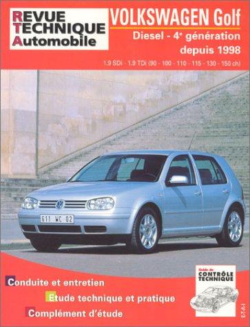 Revue techniques automobile, CIP 622,2 : Volkswagen golf 4éme génération