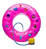 NOVICZ Combo Inflatable Swimming Floating Tube with Air Pump