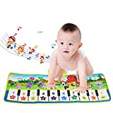 Tapis musical, BelleStyle Baby Musical Piano Tapis de jeu Tapis de jeu Musical...